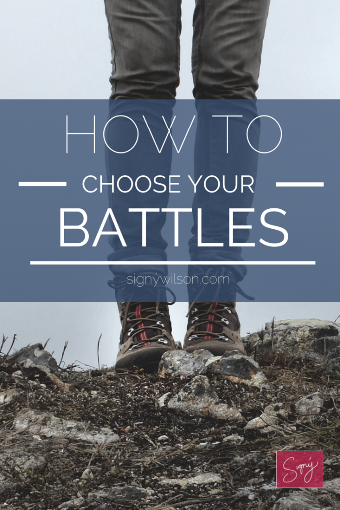 How to choose your battles 2.0