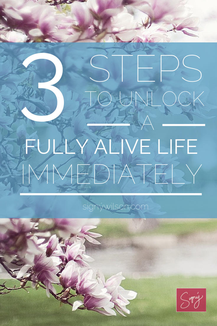 alive, fully, self-help, change,