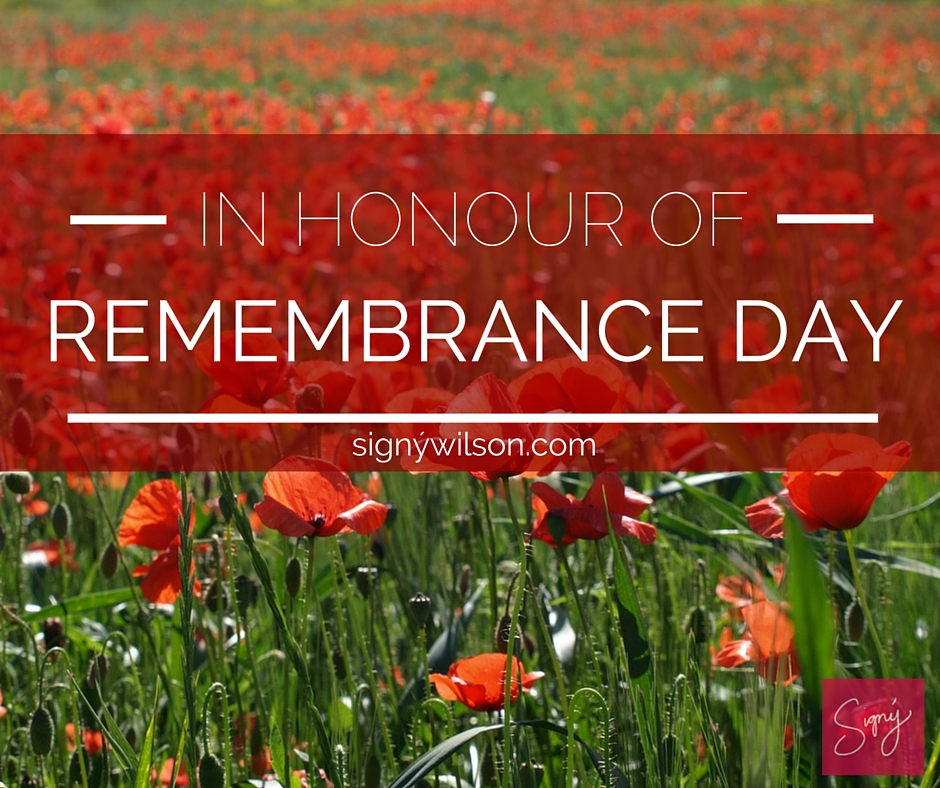 02-In Honour of Remembrance Day