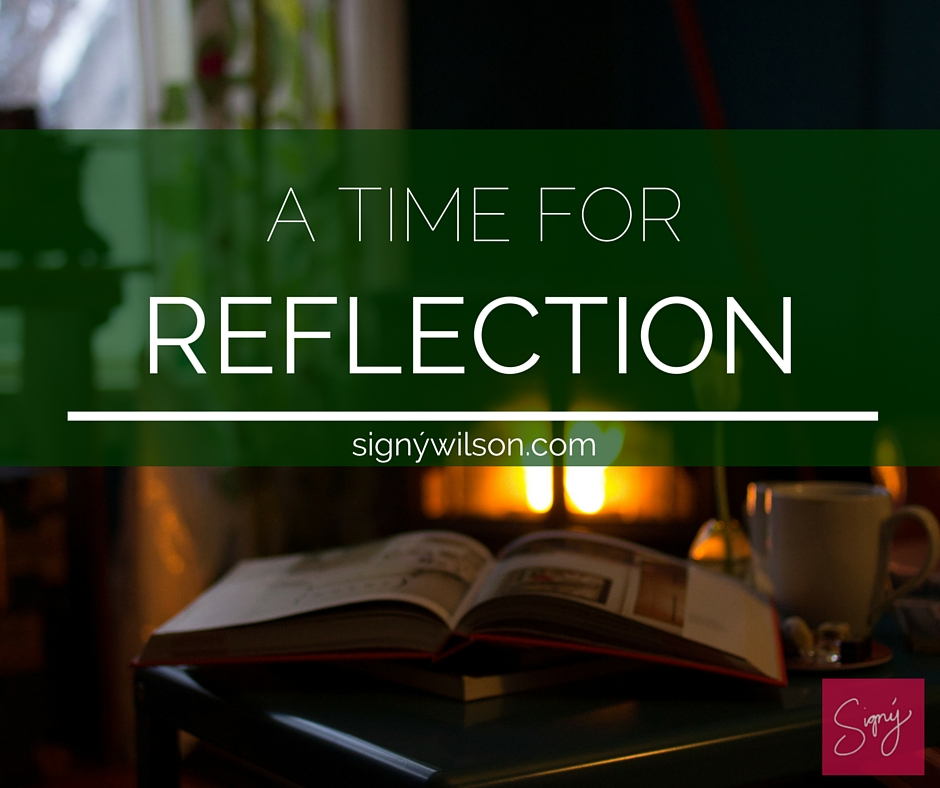 01-A Time for Reflection