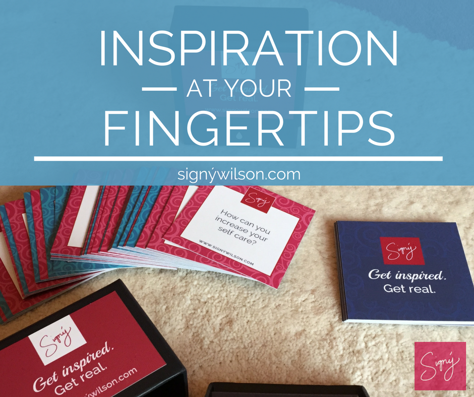 Inspiration at your fingertips